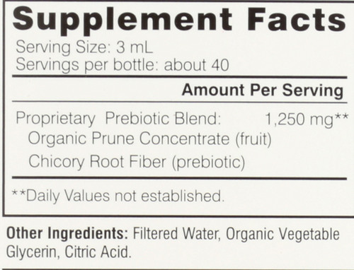 Baby Move Organic Prunce Concentrate And Prebiotics 4 Fl oz 120 Ml
