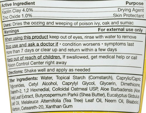 Poison Ivy Oak Cream™  2 Fl oz 60 Ml