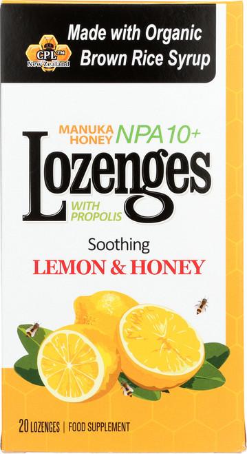 Manuka Honey Lozenges Soothing Lemon And Honey