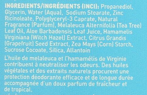 Deodorant Tropical Breeze       2.5oz 70 Ml
