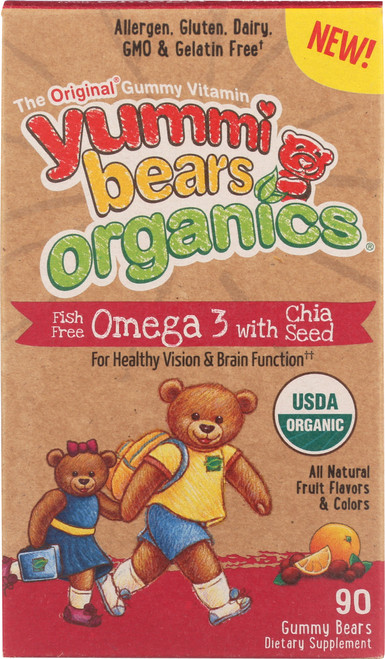 Omega -3 With Chia Seed All Natural Fruit And Flavors