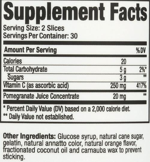 Vitamin C  60 Gummies