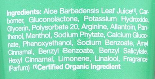 Gel Moisturizing Aloe Vera Tube 98% Jsn Aloe Vera 98% Gel-4Oz Tub 113 G 4oz