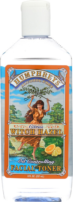 Alcohol Free Citrus Witch Hazel Oil Controlling Facial Toner