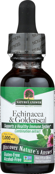 Echinacea/Goldenseal Alcohol - Free