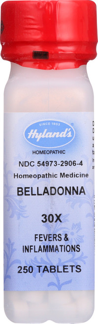 Belladonna 30X