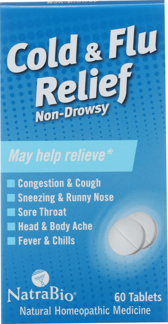 Cold & Flu Relief Non-Drowsy 60 Tablet