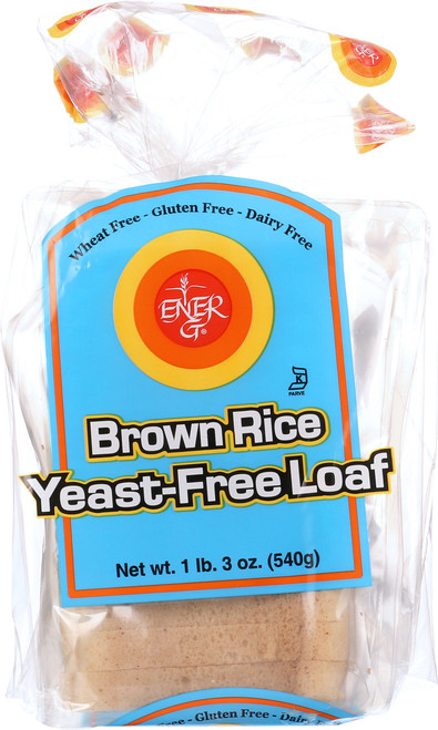 Loaf Brown Rice Yeast-Free