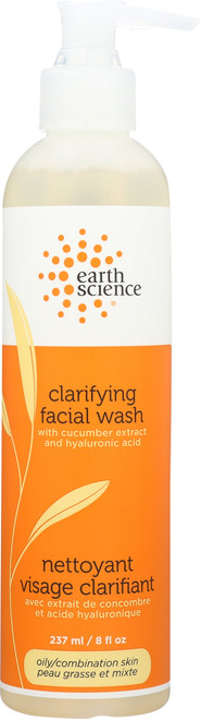 Facial Wash With Cucumber Extract And Hyaluronic Acid