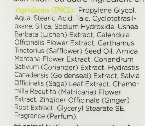 Deodorant Liken Plant Herbal Scent Herbal Scent 70 G 2.45oz