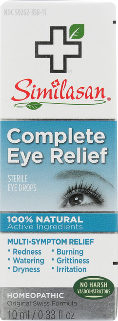 Sterile Eye Drops Complete Eye Relief