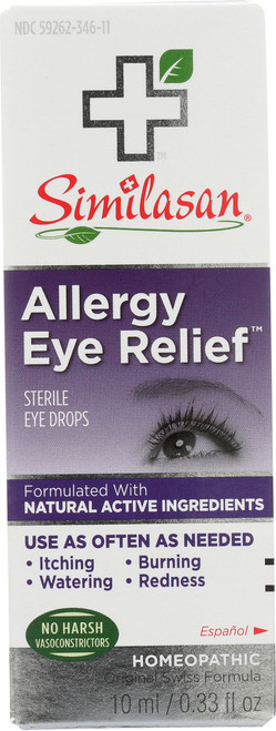 Sterile Eye Drops Allergy Eye Relief