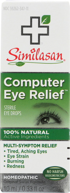 Sterile Eye Drops Computer Eye Relief