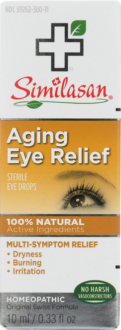Sterile Eye Drops Aging Eye Relief