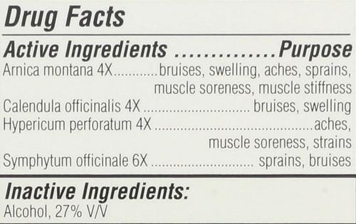 Arnica Active Skin Spray First Aid 90 Ml 3.04 Fl oz