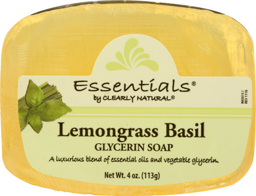 Glycerin Bar Soap Lemongrass Basil