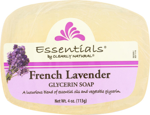 Glycerin Bar Soap French Lavender