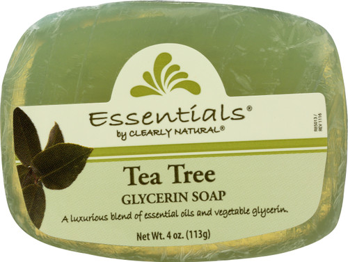 Glycerin Bar Soap Tea Tree