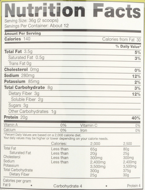 Pea Protein™ Vegan Shake Vanilla 15.2oz 432 G