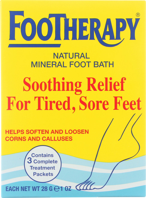 Footherapy Mnrl Slt Trial