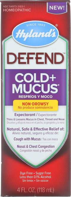 Defend Cold & Mucus