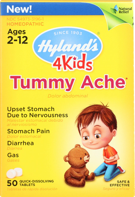 4 Kids Tummy Ache