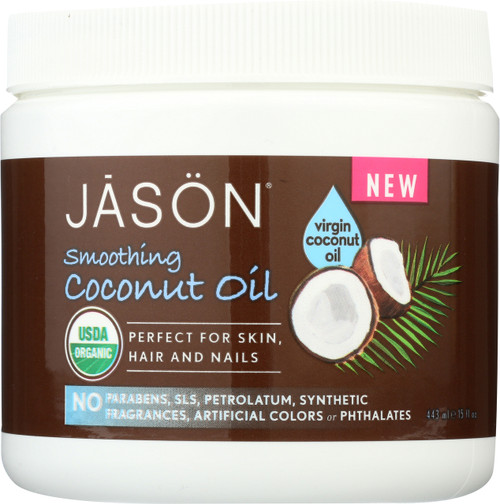 Coconut Oil Smoothing