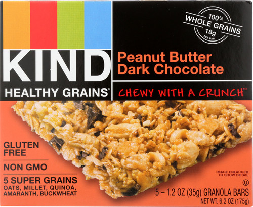 Granola Bar Peanut Butter Dark Chocolate