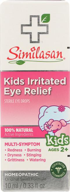 Kids Irritated Eye Relief Sterile Eye Drops