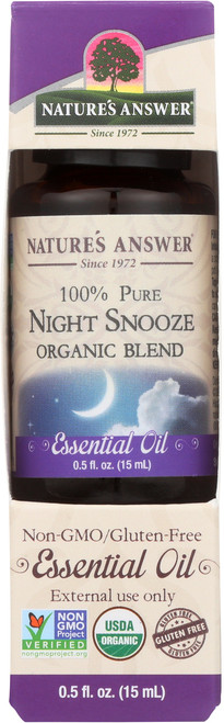 Essential Oil Night Snooze Organic Blend