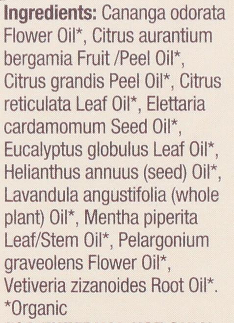 Essential Oil Romance Organic Blend 100% Pure 0.5 Fluid Ounce 15 Ml