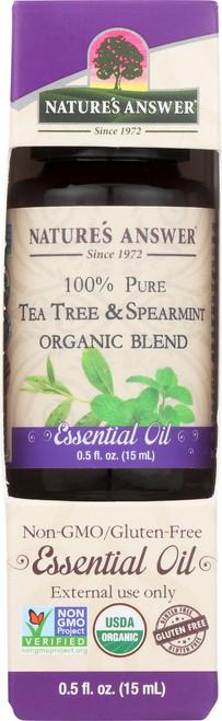 Essential Oil Tea Tree & Spearmint Organic Blend