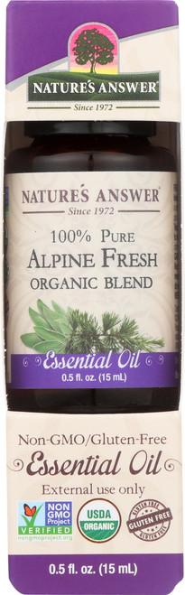 Essential Oil Alpine Fresh Organic Blend