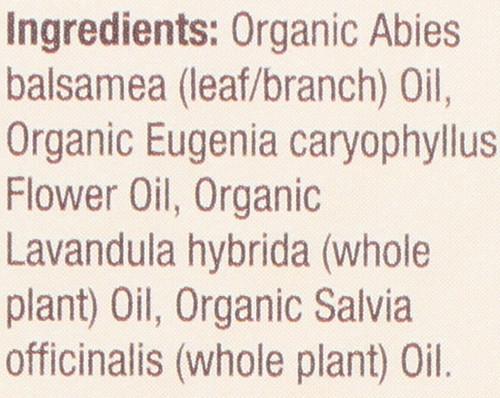 Essential Oil Alpine Fresh Organic Blend 100% Pure 0.5 Fluid Ounce 15 Ml