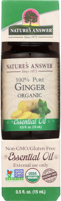 Essential Oil Ginger Organic