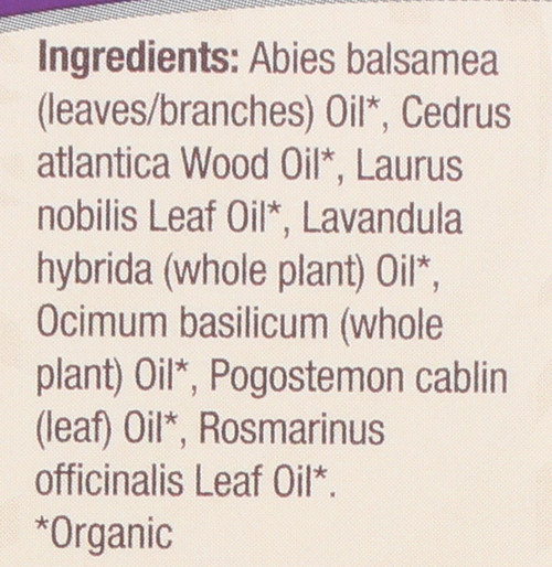 Essential Oil Ocean Breeze Organic Blend 100% Pure 0.5 Fluid Ounce 15 Ml