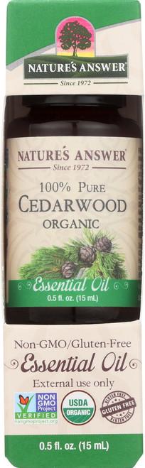 Essential Oil Cedarwood Organic