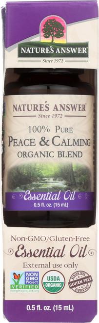 Essential Oil Peace & Calming Organic Blend