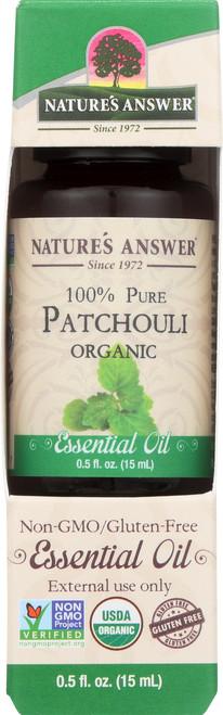 Essential Oil Patchouli Organic