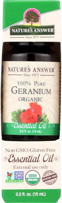 Essential Oil Geranium Organic