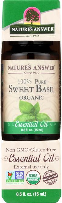 Essential Oil Sweet Basil