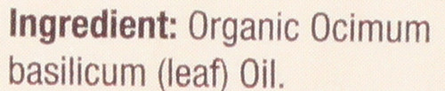 Essential Oil Sweet Basil 100% Pure 0.5 Fluid Ounce 15 Ml