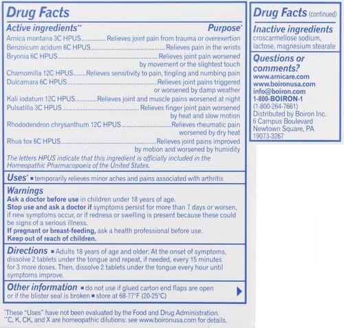 Arnicare® Arthritis Arthritis Pain* 60 Tablets