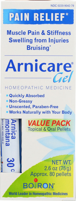Topical & Oral Pellets Arnicare Gel