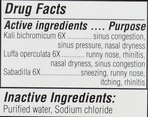 Sinus Relief Nasal Mist Original Swiss Formula 20 Ml 0.68 Fl oz