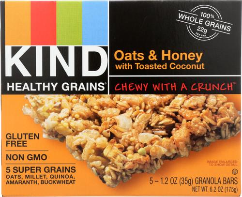 Granola Bars Oats & Honey With Toasted Coconut