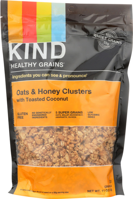 Grains Clusters Oats And Honey With Toasted Coconut