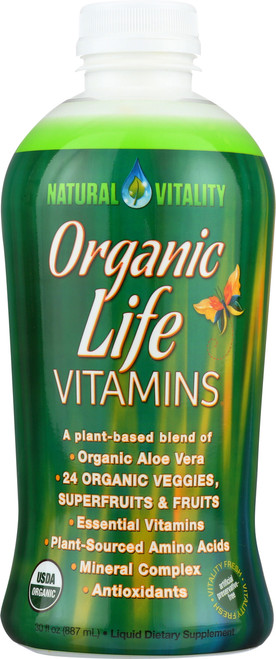 Organic Life Vitamins Liquid