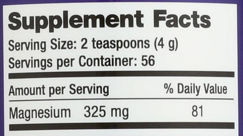 Natural Calm Sweet Lemon Magnesium 8oz 226 G
