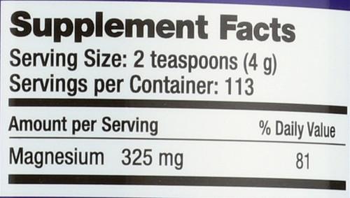 Natural Calm Raspberry-Lemon Magnesium 16oz 453 G